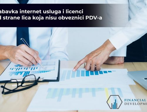 Purchase of Internet services and licenses by non-VAT payers